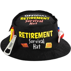 Officially Retired Survival Hat Bartz S Party Stores