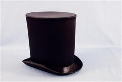 0fa28f73d36 Victorian Coachman Satin Top Hat - Bartz s Party Stores
